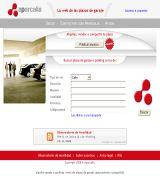 www.aparcalia.com - La web de las plazas de garaje busca alquila vende o comparte servicio de suscripción a alertas de nuevos anunicos búsqueda de plazas por mapa sólo an