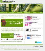 www.aximet.com - Empresa dedicada al desarrollo de páginas web para empresas tiendas virtuales cátalogos online y páginas corporativas todas autogestionadas por usted