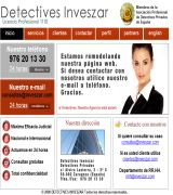 www.inveszar.com - Detectives privados investigaciones privadas licencia oficial 1110 servicio nacional e internacional consultas 24 horas todo tipo de servicios de inve