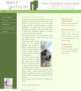 www.marcvertical.es - Quotmarc trabajos verticalesquot nace con la intención de dar una solución práctica y mejor dimensionada a las necesidades del cliente utilizamos para