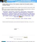 www.online-hoteles.com.ar - Reservas de alojamiento en buzios hoteles posadas resort guia de alojamiento en buzios brasil