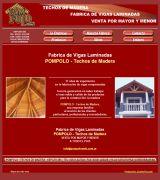 www.pompoloweb.com.ar - Venta y fabricación de vigas laminadas de madera empresa radicada en villa carlos paz ventas a todo el país